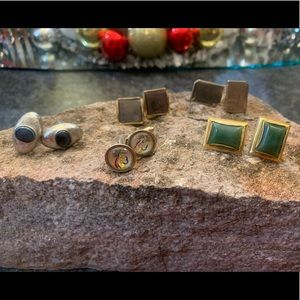 5 Sets of Vintage Cufflinks